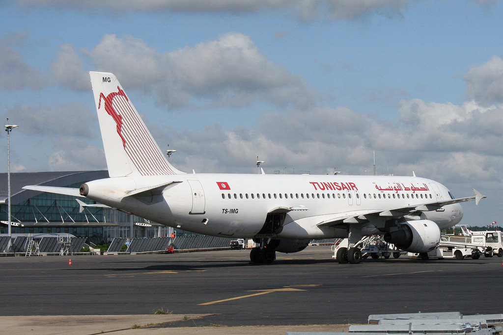 Airbus A320-211 - TS-IMG